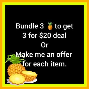 🍍3 for $20 Deal